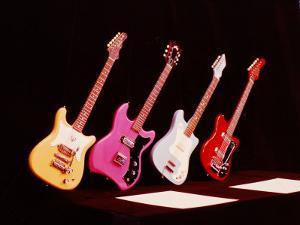 Electric Guitars by Yale Joel