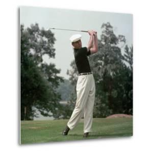 Golfer Ben Hogan by Yale Joel