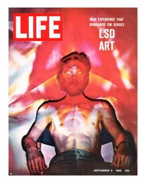 LSD Art, September 9, 1966 by Yale Joel