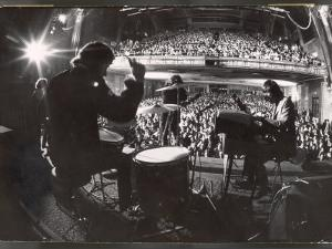 """Rock Group """"The Doors"""" Performing at the Fillmore East by Yale Joel"""