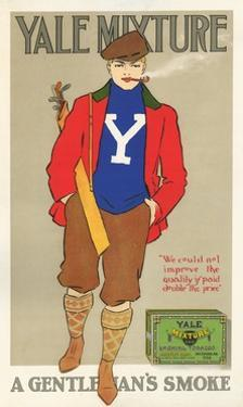 Yale Mixture: a Gentleman's Smoke Poster