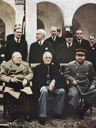 Yalta Conference of Allied Leaders, World War II, 4-11 February 1945