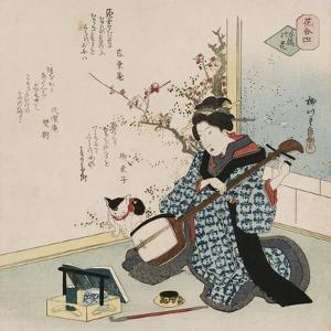 Te-Ike No Hana 'Hand-Picked Flower' by Yanagawa Shigenobu II
