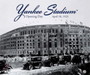 Yankee Stadium - 1923 Opening Day