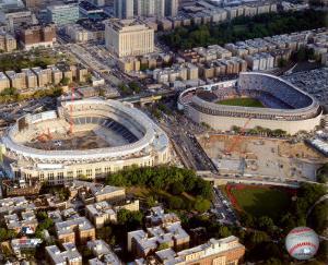 Yankee Stadium - 2008 New & Old Stadium