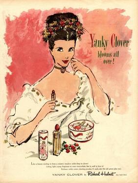 Yanky Clover Make-Up Makeup Lipsticks Lipstick Face Powder Richard Hudnut, USA, 1930