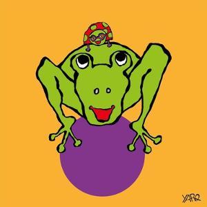 Frog and Ladybug by Yaro