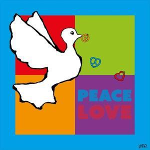 Peace and Love by Yaro