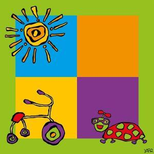 Tricycle by Yaro