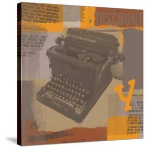 Vintage Typewriter I by Yashna