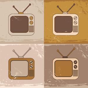 Tv Set Icons by YasnaTen