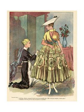 Yellow Dress 1916