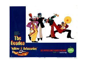 Yellow Submarine, the Beatles, 1968