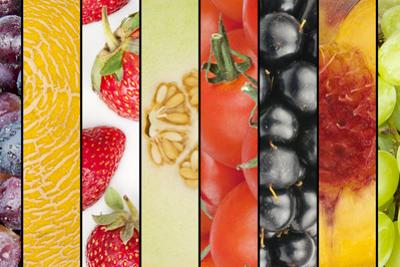 Collage of Seasonal Summer Fruits by YellowPaul