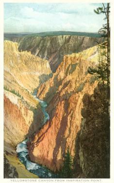 Yellowstone Canyon, Yellowstone National Park