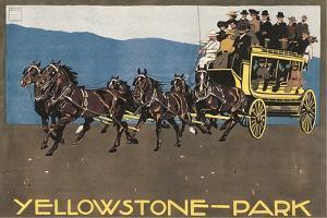 Yellowstone Horse-Drawn Charabanc