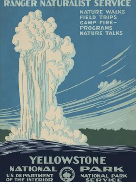 Yellowstone National Park, c.1938