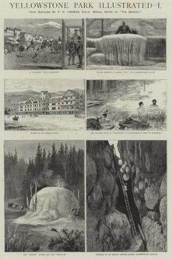 Yellowstone Park Illustrated, I