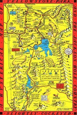 Yellowstone Park Map