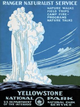 Yellowstone Poster, C1938