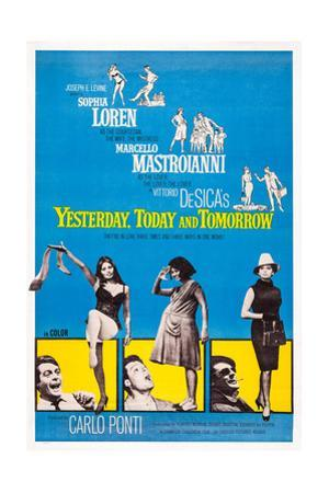 Yesterday, Today and Tomorrow, 1963