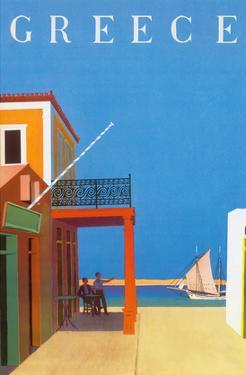 Greece - Island of Hydra by Yiannis Moralis