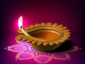 Diwali Oil Lamp by yienkeat