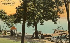 YMCA Boat Landing, Lake Geneva, Wisconsin