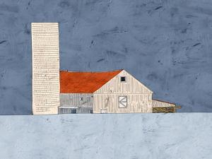 Barn and Silo by Ynon Mabat