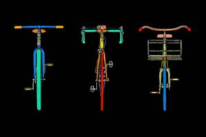 Bike Trio by Ynon Mabat