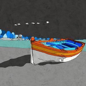 Boat Ride along the Coast II by Ynon Mabat