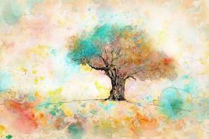 Citrus Tree by Ynon Mabat