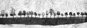 Dark Ink Trees by Ynon Mabat
