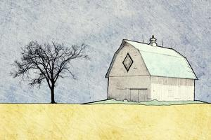 Daytime Farm Scene by Ynon Mabat