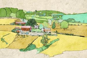 Large Farm by Ynon Mabat