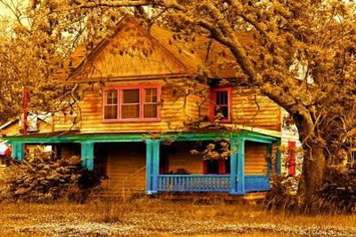 Porch in Blues by Ynon Mabat