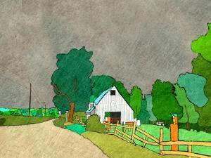 Rainy Season on the Farm by Ynon Mabat