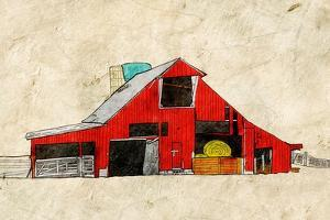 Red Barn by Ynon Mabat