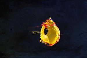 High Speed Flash Capturing Bursting Balloon and Visible Sound Wave Distortions by Yon Marsh