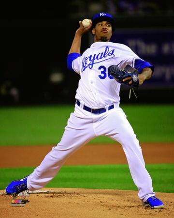 Yordano Ventura Game 2 of the 2014 World Series Action