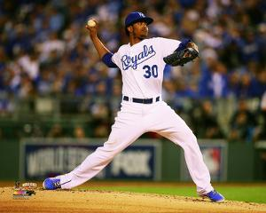 Yordano Ventura Game 6 of the 2014 World Series Action