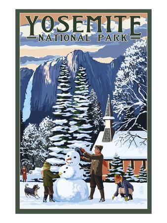 https://imgc.allpostersimages.com/img/posters/yosemite-chapel-and-snowman-yosemite-national-park-california_u-L-Q1GPCAE0.jpg?p=0