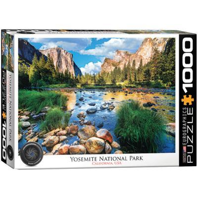 Yosemite National Park California 1000 Piece Puzzle