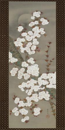Cherry Blossoms by Yoshida Shuran