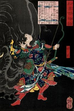 Shôbu, from the Series One Hundred Ghost Stories from China and Japan by Yoshitoshi Tsukioka