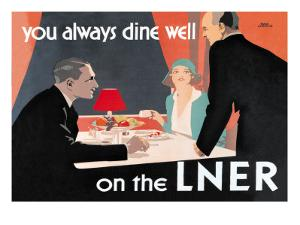 You Always Dine Well on the Lner