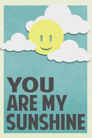 You Are My Sunshine Plastic Sign