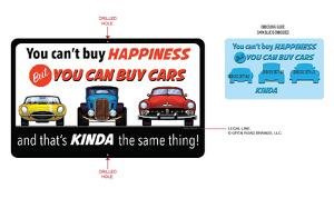 You Can Buy Cars Tin Sign