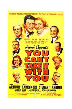 YOU CAN'T TAKE IT WITH YOU, James Stewart, Jean Arthur, 1938.