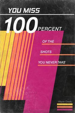 You Miss 100% Of The Shots You Never Take - Wayne Gretzky - VHS Tape